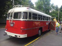 Ikarus 311-es veterán autóbusz, mint Fesztiváljárat... :-D