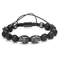 Skeleton Knit Bracelet