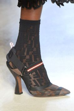 This season the focus is firmly on the fabulous footwear