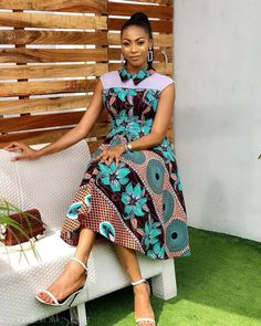 Items similar to ankara dresses african dresses summer dresses fall dresses midi dresses african women african fashion prom dresses on Etsy Ankara Styles For Women, Ankara Gown Styles, Latest Ankara Styles, Ankara Gowns, Ankara Dress, Ankara Blouse, African Print Dresses, African Fashion Dresses, African Dress