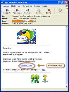 ¿Le ha tocado una entrada para el próximo Mundial de Brasil? El Inteco recomienda tener cuidado http://www.revcyl.com/www/index.php/ciencia-y-tecnologia/item/3085-%C2%BFle-ha-tocado-una-entrada-para-el-pr%C3%B3ximo-mundial-de-brasil?-el-inteco-recomienda-tener-cuidado
