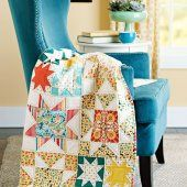 Star Bright featured in the December 2015 issue of American Patchwork & Quilting