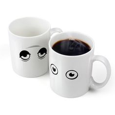 Wake Up Heat-Sensitive Mug, $21, now featured on Fab.