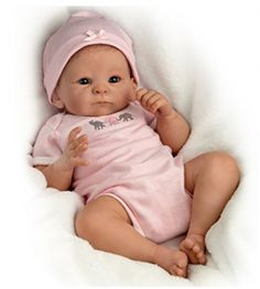 Shop for baby dolls and toy dolls at Ashton-Drake. Don't miss our selection of realistic & handcrafted lifelike baby dolls. Free return shipping up to 365 days. Ashton Drake, Porcelain Dolls Value, Porcelain Dolls For Sale, Fine Porcelain, Porcelain Vase, Porcelain Jewelry, Real Baby Dolls, Baby Girl Dolls, Toddler Dolls