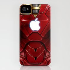 Iron Man iPhone case.