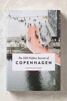 Anthropologie 500 Hidden Secrets of Copenhagen (Verborgene Schätze von Kopenhagen, Buch)-a/s