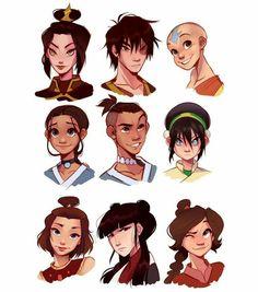 Avatar Aang, Avatar Airbender, Suki Avatar, Avatar Legend Of Aang, Team Avatar, Legend Of Korra, Aang The Last Airbender, Zuko, Fan Art Avatar