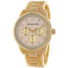 <3<3<3Michael Kors Ladies Chronograph Watch MK5039
