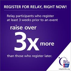 Please join my Relay For Life team, Hope Sparkles, http://main.acsevents.org/goto/HopeSparkles or support my effort to raise $1,000 http://main.acsevents.org/goto/ChristaAtEssexRelay2013