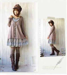 Resultado de imagen para ropa  estilo mori