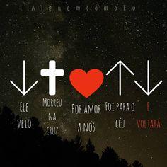 A imagem pode conter: texto I Love You God, God Is Good, Gods Love, Jesus Wallpaper, Tumblr Wallpaper, Religious Tattoos, Memes Status, Lettering Tutorial, Purple Aesthetic