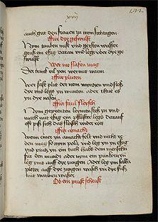Universitätsbibliothek Heidelberg, Cod. Pal. germ. 551 Sammelhandschrift Südwestdeutschland (vorläufige Lokalisierung), 15. Jh. (vorläufige Datierung) Folios 186r-204r Kochbücher