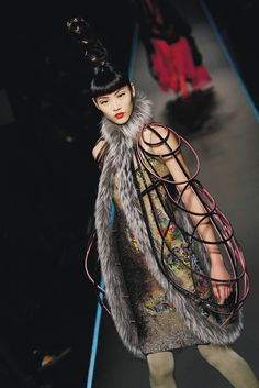 Jean Paul Gaultier's Greatest Hits: A look from the Jean Paul Gaultier Fall 2008 couture show.