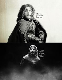 Faramir. I really wish they hadn't changed how he acts in the Two Towers movie. In the book he doesn't even consider taking the ring to Gondor...he doesn't even want to see it and be tempted. But they demean and misrepresent him when he's introduced in the movie.