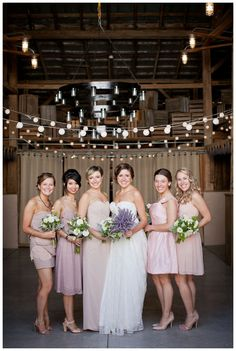 Blushing Bridesmaids by Lily Glass Photography | on Smitten Magazine | www.smitten-mag.com