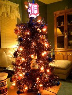 Detroit Tigers Christmas tree!!!! <3