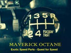 Gear knob, Custom-Classic cars, Maverick Octane - Speed Parts..... where quality…