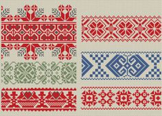 Border Pack from Folkology.com.