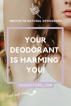 e899b5532bd Why is #deodorant bad? The most common #chemical ingredients found in  deodorant and