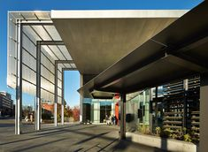 "Olson Kundig's Tacoma Art Museum wing has movable screens that ""roll like railroad box cars""."