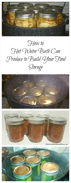 Ever see mason jars of fruit on someone's food storage shelves and wish you had some? You can!  Water bath canning is a great way to preserve produce!  Seeing all of the lovely mason jars full of food on your food storage shelves is a great reward for your hard work, and eating the fruits of your labor is even better!  If you are ready to give water bath canning a try, I put together some great tips to help you and even wrote out the instructions for you, step by step!  Check it out on the…