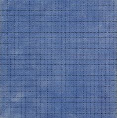 """Mapping transcendence  Agnes Martin  """"Starlight"""", watercolor and ink on paper, 1963"""