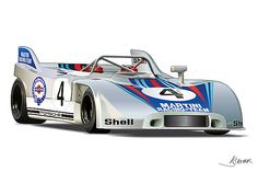 Porsche 908 Martini by Alain Jamar