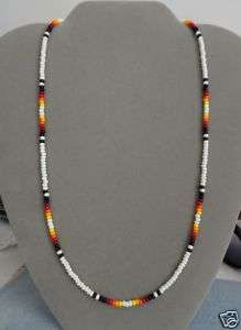 Native American Beaded Necklace Patterns | Beaded Necklace ~ Mens, Womens ~ Native American Made ~ All Sizes