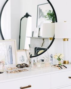 "1,051 Likes, 8 Comments - Alaina Kaczmarski (@alainakaz) on Instagram: ""Anyone else use the top of their dresser as a vanity? I always have. My best tip is to get pretty…"""