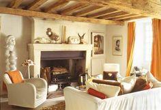 20 Best Rustic Orange Living Room Images Cottage Living