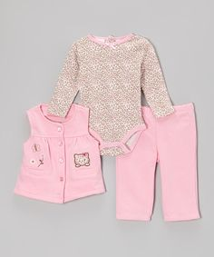 ARAUS Layette Double Breasted Sweater Coat with Hood Made with Organic Cotton
