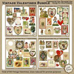 Vintage Valentines Bundle