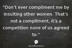 Competition between women