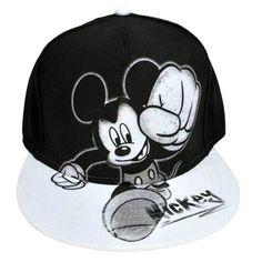 Disney Mickey Mouse Painted Design Men's Graphic Snap back Baseball Cap Flat NWT Black Snapback, Snapback Hats, Mouse Paint, Mickey Mouse Hat, Painted Hats, Custom Caps, Disney Colors, Disney Trips, Disney Disney