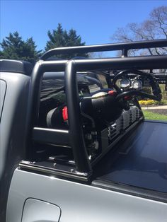 Click this image to show the full-size version. Toyota Hilux, Toyota Tacoma, Tacoma 4x4, Tacoma Truck, Ford Ranger, Nissan Navara D40, Accessoires 4x4, Truck Storage, Honda Ridgeline