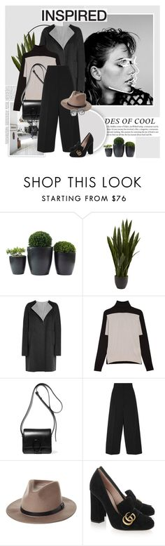"""Always"" by aane1aa ❤ liked on Polyvore featuring Nearly Natural, Jil Sander, 3.1 Phillip Lim, Brixton and Gucci"