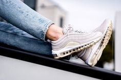FitMySole is shipping your favorite limited edition Air Max 97 Desert Sand sneakers to anywhere in the world! Puma Platform, Platform Sneakers, Air Max 97, Nike Air Max, Heels, Beach, Leather, Stuff To Buy, Fashion