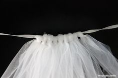 How to make a tutu. Doing this in red for my Minnie Mouse costume