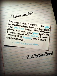 Zac Brown band For some reason I think of me an Ronnie with this song and all his traveling through all these years. I think he's got a gypsy soul <3