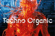 Techno Organic vereint sich scheinbar widersprechende typografische Elemente in einem zeitgenössische Alphabet. Angefressene Buchstabenformen kombiniert menschliche Elemente mit den Eigenschaften der sterilen Computer-Typografie und erzeugt ein Mensch-Maschine Gefühl. http://www.fontshop.com/fonts/singles/garagefonts/techno_organic_byte/