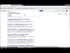 How to get your blog on Google's first page First Page, You Got This, How To Get, Marketing, Tips, Youtube, Blog, Blogging, Youtube Movies