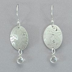Holly Yashi Sweet Moments Earrings - Silver