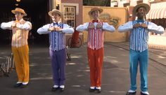 'Limited Time Magic' Brings the 'Original' Boy Band Dapper Dans Special Performances Back to Disneyland Park