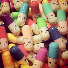 Happy pills DIY messages inside...So cute! I'm going to make this for someone that needs some happiness xoxo