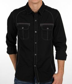 Pop Icon Embroidered Shirt - Men's Shirts/Tops | Buckle