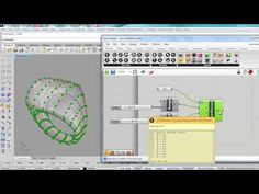 Paneling Tools and Grasshopper for jewelry design Rhino Tutorial, 3d Tutorial, Rhino Architecture, Grasshopper Rhino, Rhino 3d, Design Thinking Process, Parametric Design, 3d Models, 3d Prints