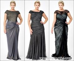 Tadashi Shoji Holiday Plus Size Eveningwear Collection