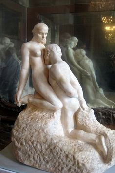 The Eternal Idol (Eternelle Idole) 1889-1890 Auguste Rodin (1840-1917) Musee Rodin, Paris