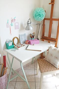 giochi di carta: My workspace {and about changes of rooms, and changes of life}