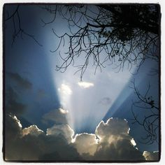 Sunrays~shining thru!